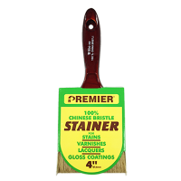Premier® 100% White China Bristle Stain Brush