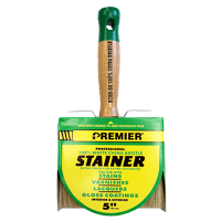 Premier® Professional Bristle Block Stain Brushes