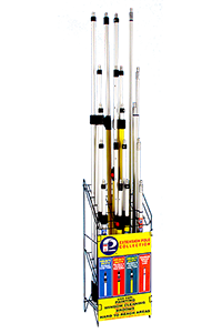 Extension Poles Displays
