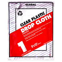 Plastic Drop Cloths